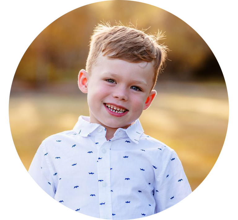 An image of a boy smiling at Burpengary.